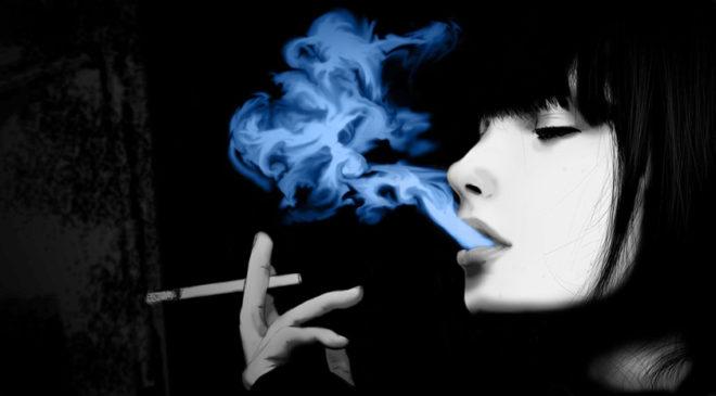 Γυναίκα και κάπνισμα